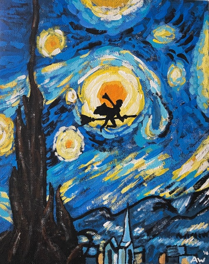 Harry In the Starry Night